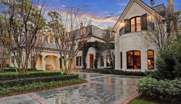 On the Market: Exquisite 2-Acre Houston Chateau