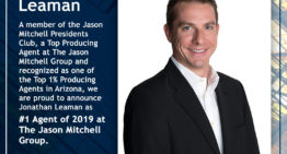 The Jason Mitchell Group Announces No. 1 Agent of 2019