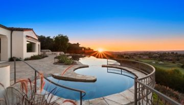 On the Market: San Diego Estate with Panoramic Fairway Views