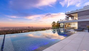 On the Market: Beverly Hills Wellness House with Promontory Views