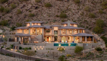 Interior Design Inspo of the Week: Contemporary Hillside Home in Paradise Reserve by Est Est Scottsdale