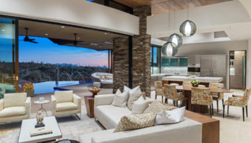 Interior Design Inspo of the Week: Desert Mountain Escape by Est Est Scottsdale
