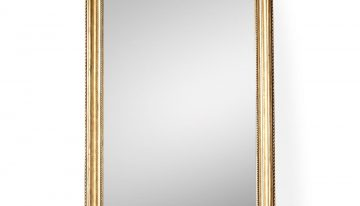 Gilt Arched Leaner Mirror