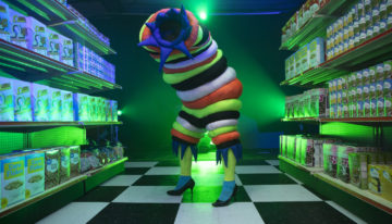 Art Installation Meets Groovy Grocery Store at Omega Mart Las Vegas