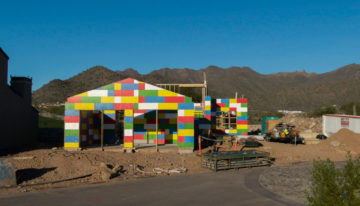 "On the ""Brick"" of Greatness: Scottsdale Community Unveils Lego-Like Home"