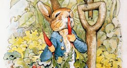 Kids Room Update: Peter Cottontail Wallpaper