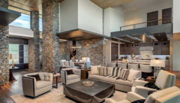 Interior Design Inspo of the Week: Fountain Hills Custom Home Combines Natural Elements by Est Est Scottsdale