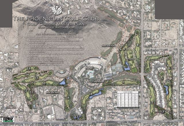 The Phoenician Golf Club Announces Redesign and Rerouting