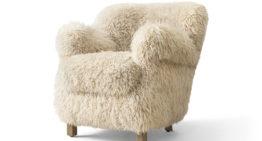Soft Spot: Professor's Sheepskin Chair