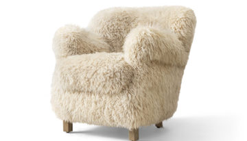 Soft Spot: Professor's Sheepskin Chair