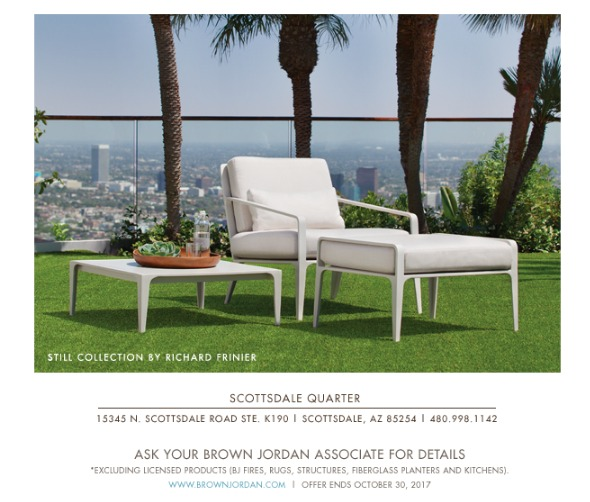 ... Of The 2018 Collections, Including Insider Stories Behind The Making Of  Brown Jordanu0027s Classic Outdoor Furniture Designs That Span Over 70 Years.