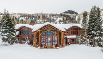 On the Market: Park City Mountain Estate Cabin
