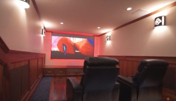 Before & After Seattle Home Theater Makeover by Wipliance