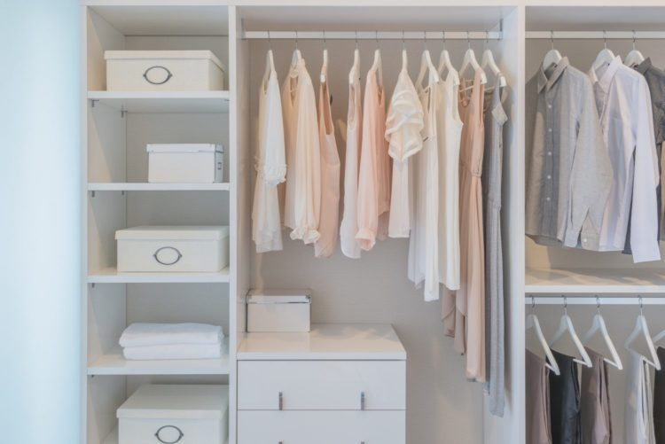in house - closet