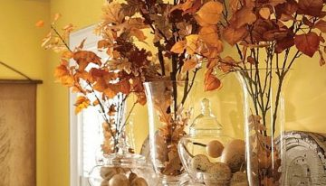 First Day of Fall Fireplace Inspiration