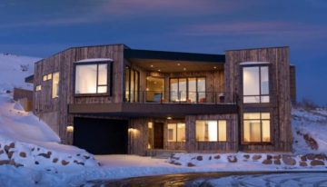 On the Market: Modern Mountain Utah Ski Home