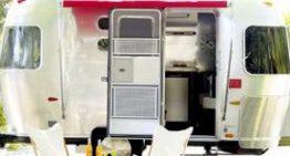 Modern Airstream Camper at Design Within Reach