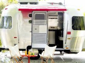 Modern Airstream Camper at Design Within Reach