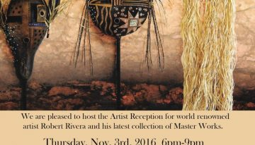 Buffalo Collection Hosts World-Renowned Artist Robert Rivera