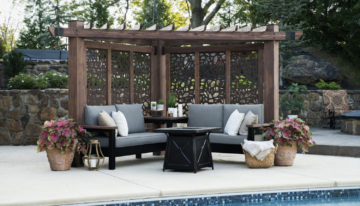 Create a Backyard Oasis with Cabana Pergola