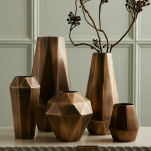 faceted-deco-metal-vases-c