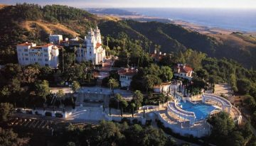 Barclay Butera designs Hearst Castle Overnight Room