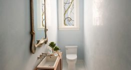 San Francicso Decorator Showcase features Marsh & Clark Powder Room