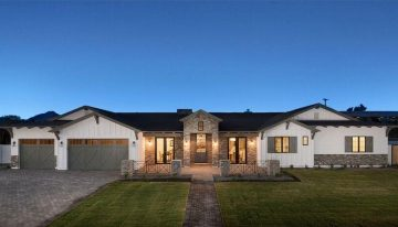 On the Market: $1,837,500 Ranch-Style Estate + $469,000 Contemporary Arcadia Home