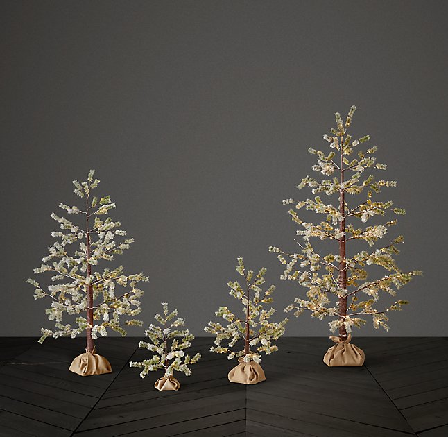 Restoration hardware holiday for Home hardware christmas decorations