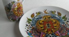 Tattoo-inspired Dishes by Jessica Rust Designs