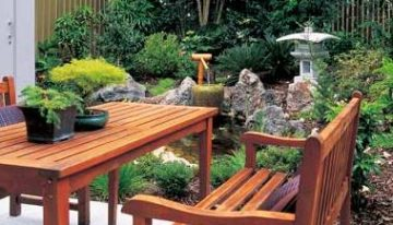 Teak Time! Refinish Your Faded Outdoor Furniture
