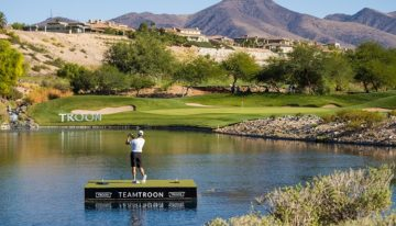 "Troon Celebrates ""Team Troon"" Anniversary With Big Splash In Las Vegas"