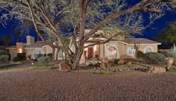 On the Market: Half Acre and Mountain Views in Scottsdale