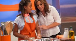 Local 12 year-old Cooks with Rachael Ray and Guy Fieri