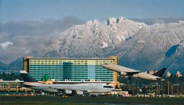 Airport Hotels: Fairmont Vancouver is Tops