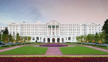Historic Tennis Event at The Greenbrier