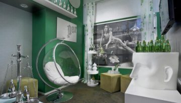 Perrier Lounge at Hotel Diva