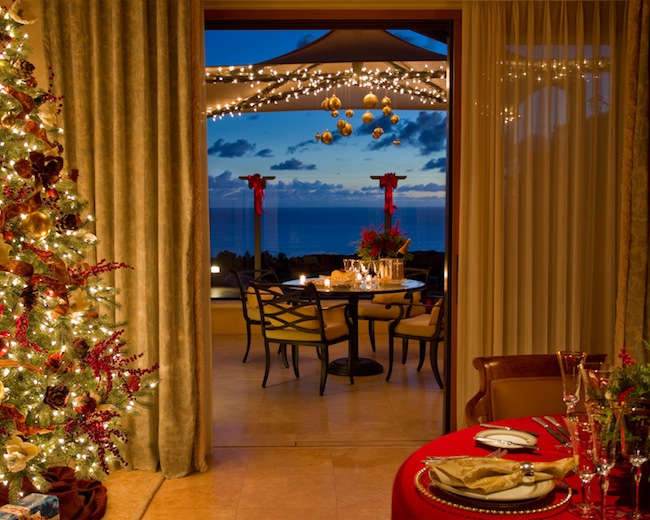 The Resort at Pelican Hill Decks the Halls of its Guest Rooms