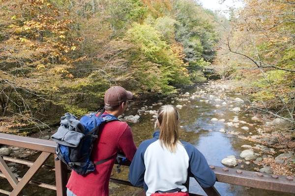 Gatlinburg Fall Tourism photo shoot