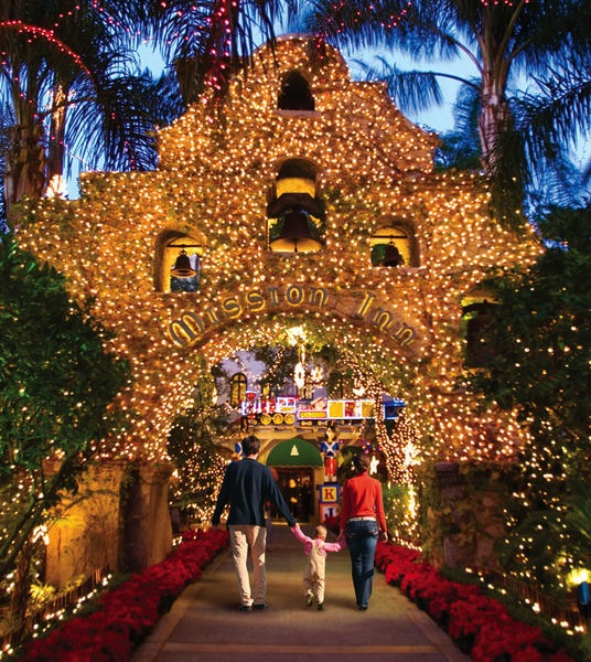 Historic California Holiday Light Festival