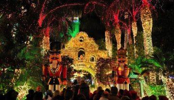 Historic California Holiday Light Festival