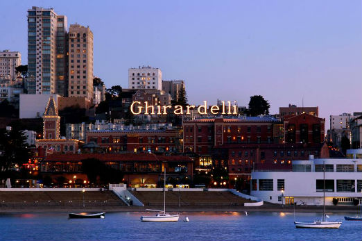photo courtesy of Fairmont at Ghirardelli Square