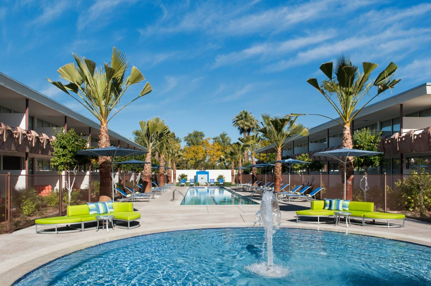 Take A Dip In Hotel Valley Ho S New Ohasis Pool