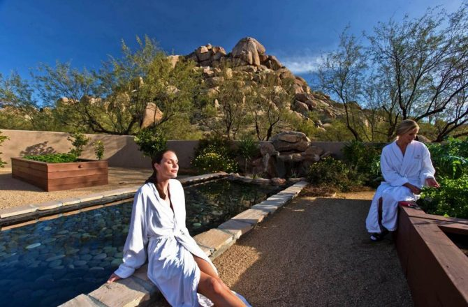 Enjoy a Carefree Mother's Day at the Boulders Waldorf Astoria Spa