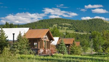 The Ranch at Rock Creek in Montana Makes Camping More Glamourous