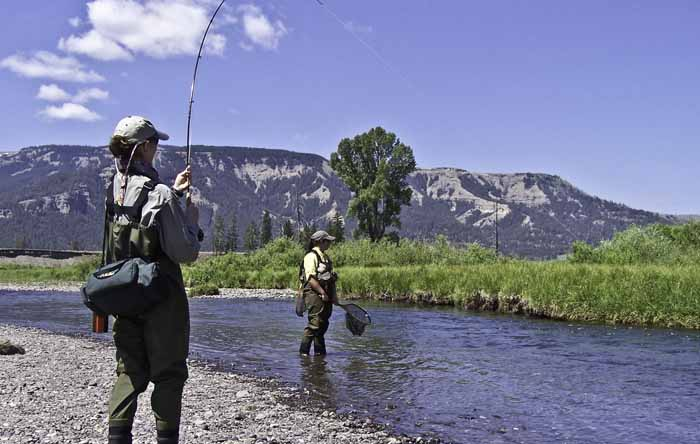 Escape to montana this summer at hubbard 39 s yellowstone lodge for Hubbards fishing float