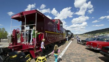 Celebrate Father's Day on a Vintage Southwest Train at Grand Canyon Railway