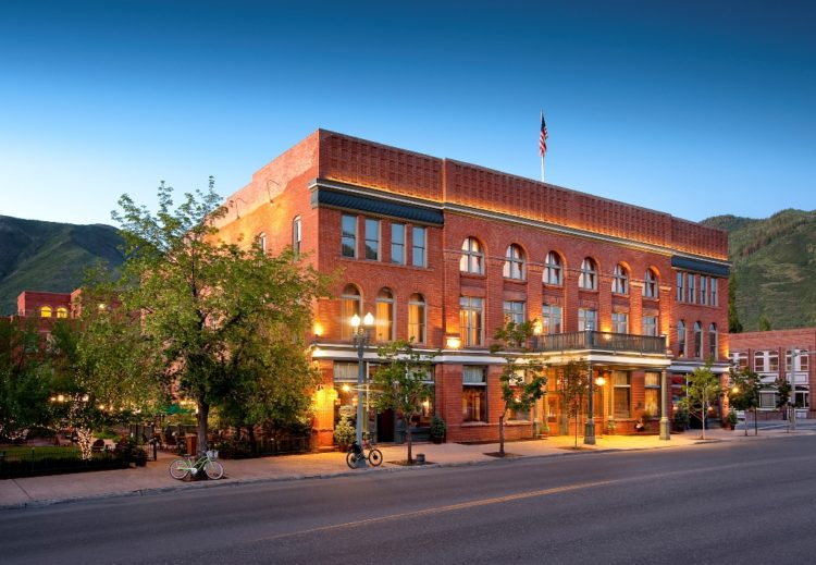 Hotel Jerome in Aspen, Colo.