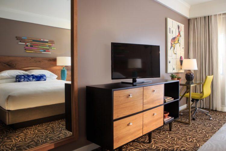 A guest room at Amara Resort & Spa