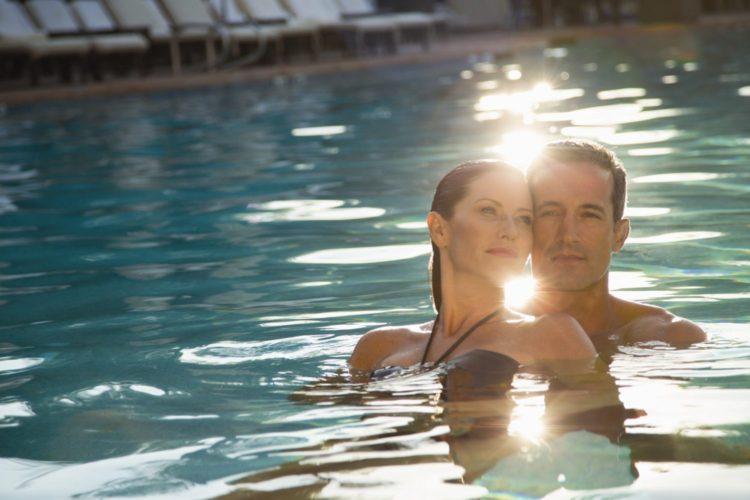 Couple Pool Shot - 1 MB